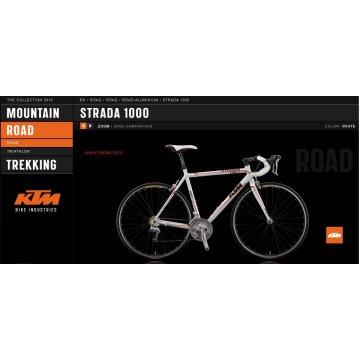 Bicicletas KTM Strada 1000 (2010)