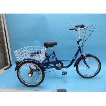 Triciclo Aço Roda 20' - Red