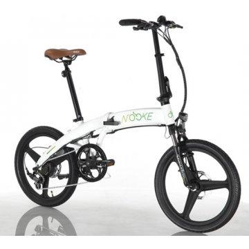 Bicicleta nacional NOOKE dobravel elétrica